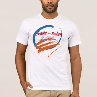 Obama- Biden 2012 brush strokes T-Shirt
