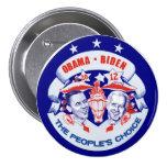 Obama Biden 2012 Button