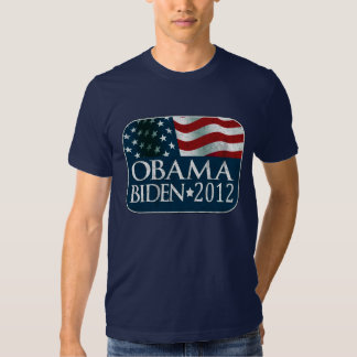 Obama Biden 2012 Election distressed Tees
