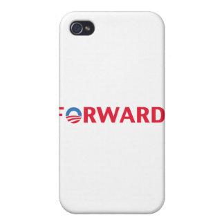 Obama / Biden 2012 Forward Slogan (Red) iPhone 4 Cover