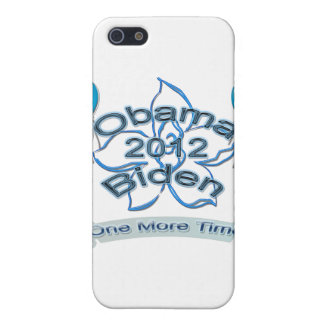 Obama Biden 2012 One More Time blue Cover For iPhone 5