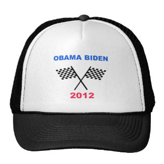 Obama Biden 2012 Racing Flag Winner Cap