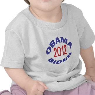 Obama - Biden 2012 Round T-shirts
