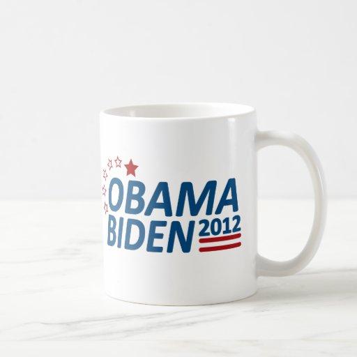 Obama Biden 2012 Stars Mug