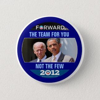 Obama Biden 2012 The Team for You 6 Cm Round Badge