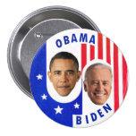 Obama Biden 7.5 Cm Round Badge