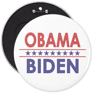 Obama-Biden 6 Cm Round Badge
