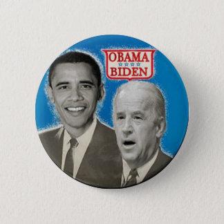 OBAMA / BIDEN Blue Button