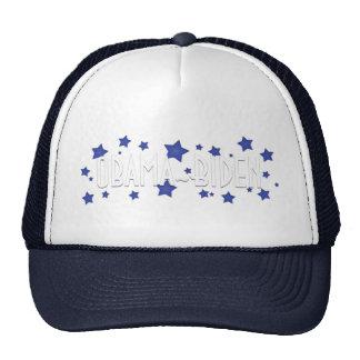 Obama Biden Blue Stars Hats