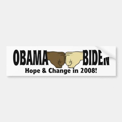 Obama Biden Bumper Sticker Car Bumper Sticker