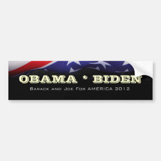 Obama / Biden Campaign Bumper Sticker