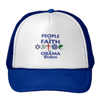 Obama Biden FAITH Hat
