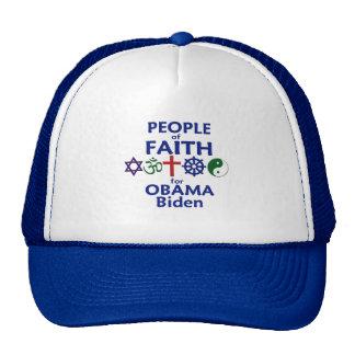 Obama Biden FAITH Hat