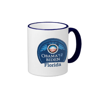 Obama Biden FLORIDA Ringer Coffee Mug