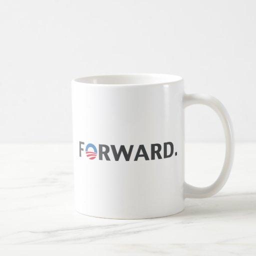 Obama / Biden Forward Slogan (Grey) Coffee Mug