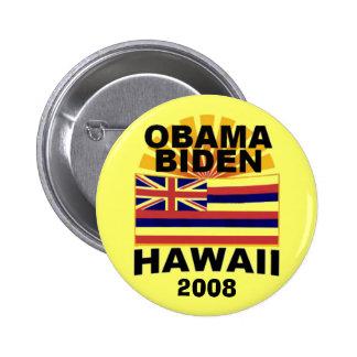 Obama Biden HAWAII Button