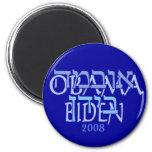 Obama Biden Hebrew Magnets