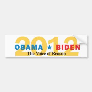 Obama-Biden in 2012 Bumper Sticker