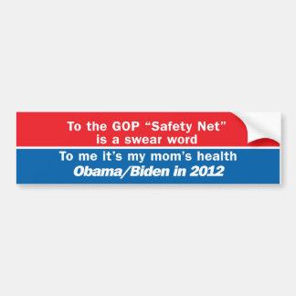 Obama Biden in 2012 Bumper Sticker
