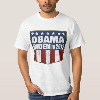 Obama Biden in 2012 distressed Shirts