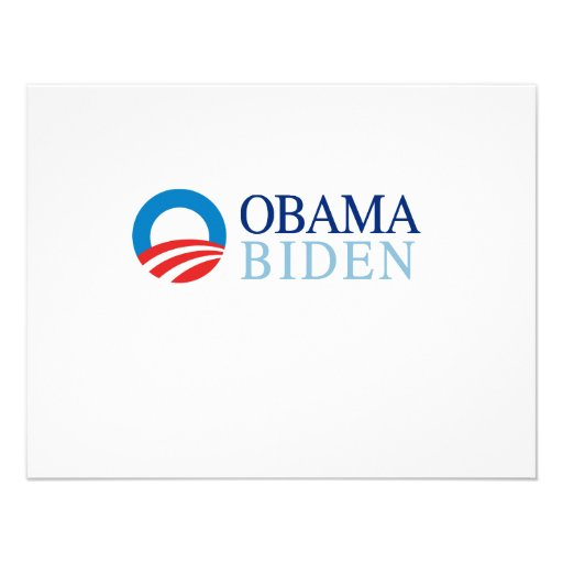 Obama / Biden Personalized Announcement