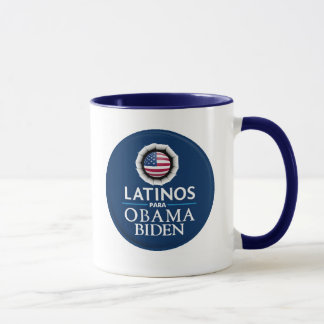 Obama Biden LATINOS Mug