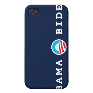 Obama Biden Logo (Blue) iPhone Case Covers For iPhone 4