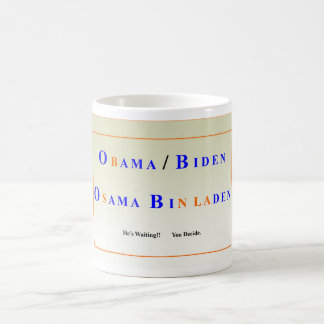 obama/biden basic white mug