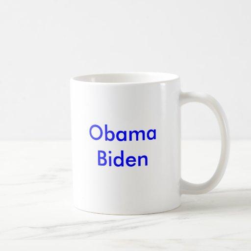 Obama Biden Coffee Mugs