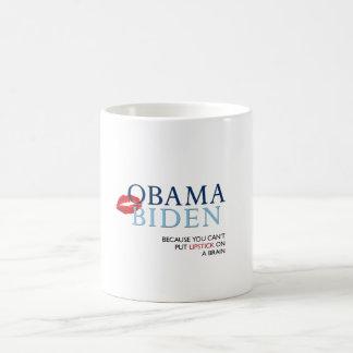 Obama Biden Mug - funny slogan.