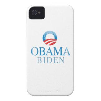 Obama BIden O blue Vintage png Case-Mate Blackberry Case