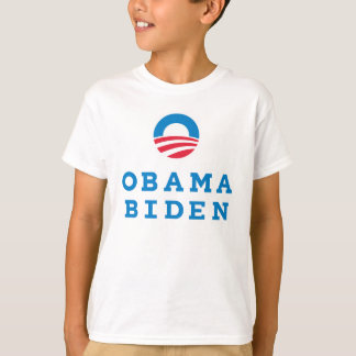 "Obama Biden ""O"" Logo Vertical (Color) T-Shirt"