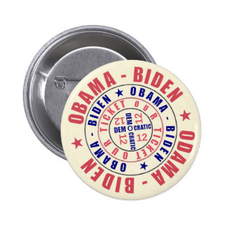 Obama Biden Our Ticket 2012 6 Cm Round Badge