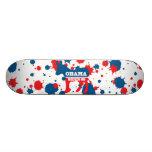 Obama-Biden Paint Skateboard