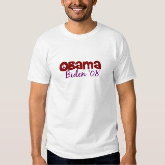 Obama Biden Peace 2008 Shirt