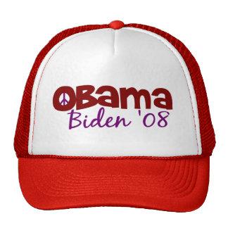 Obama Biden Peace Cap