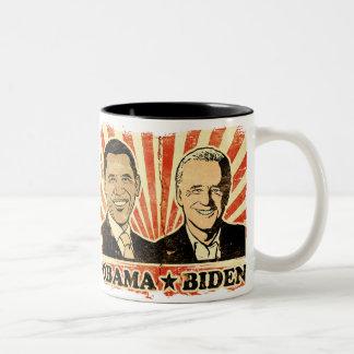 Obama Biden Portraits Mug