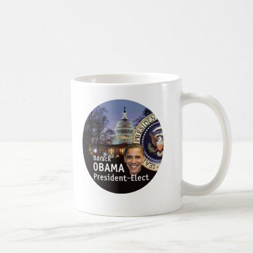 Obama Biden President-Elect Mug