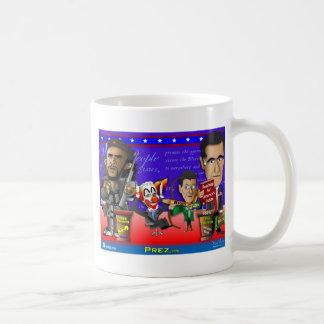 Obama Biden Romney Ryan Coffee Mug