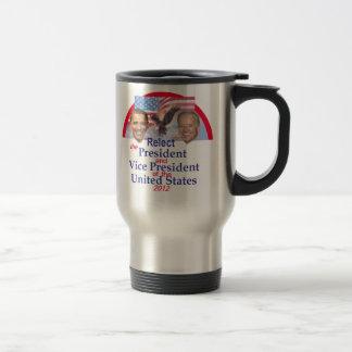 Obama Biden Stainless Steel Travel Mug