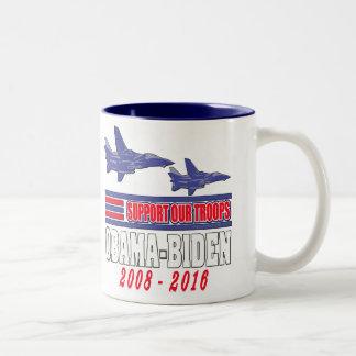 Obama Biden Support Our Troops Coffee Mug
