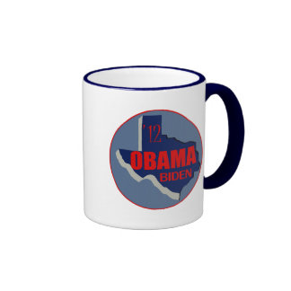 Obama Biden TEXAS Ringer Coffee Mug