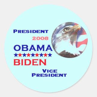 Obama Biden Ticket Sticker