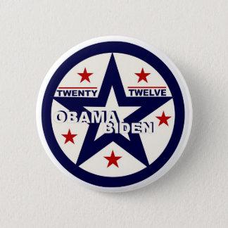 Obama/Biden Twenty Twelve 6 Cm Round Badge