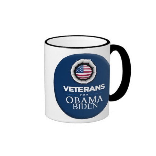 Obama Biden VETERANS Mug