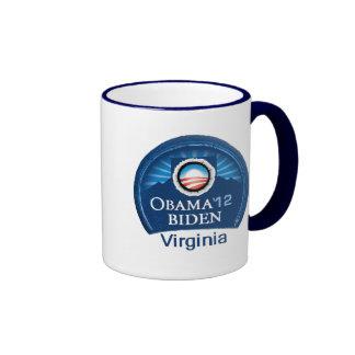 Obama Biden VIRGINIA Mugs