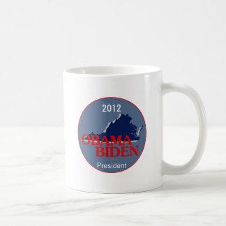 Obama Biden VIRGINIA Coffee Mugs