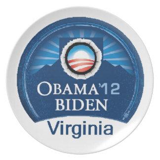 Obama Biden VIRGINIA Plate