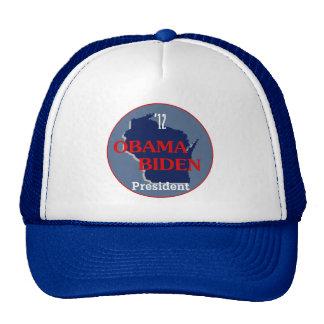 Obama Biden WISCONSIN Hats