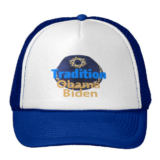 Obama Biden YARMULKE Hat